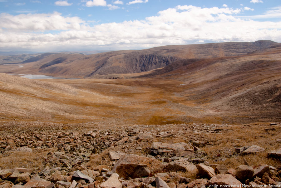 Old road (mountain pass) to Ukok Plateau