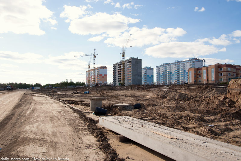Rodniki microdistrict building area