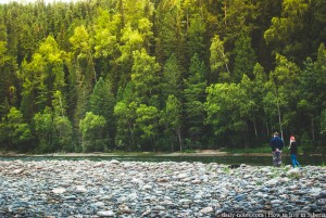 Ona river, Khakassia